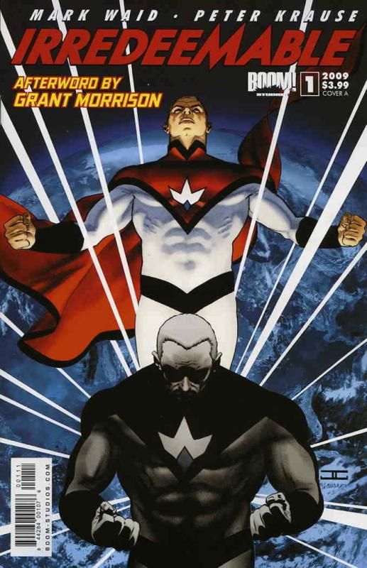 Irredeemable #1A VG; Boom! | low grade comic - save on shipping - details inside