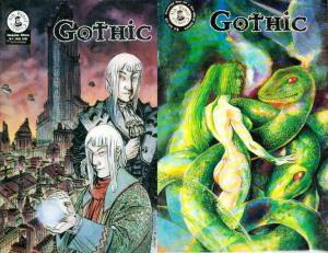 GOTHIC (1997 5TH PANEL) 1-2 COMICS BOOK