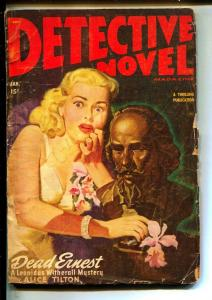 Detective Novel-Pulps-1/1948-Alice Tilton-Ray Cummings