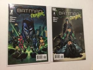 Batman Orphans 1 & 2 Set Lot VF Very Fine