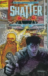 Shatter (2nd series) #11 VF/NM; First | save on shipping - details inside