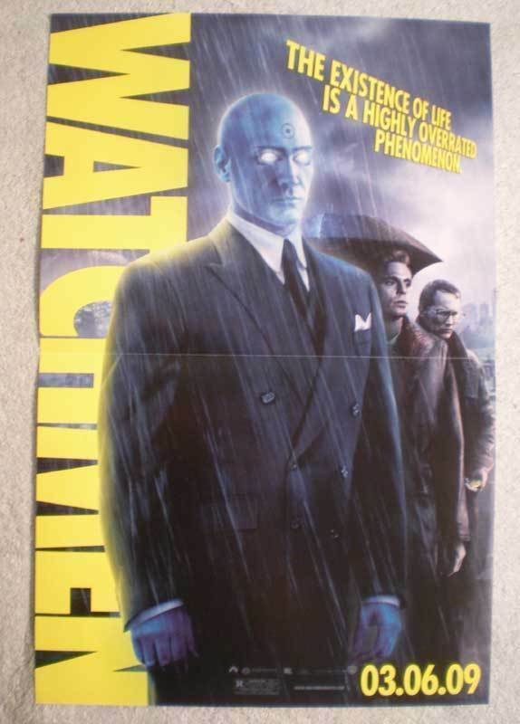 WATCHMEN Promo Poster, Movie,  11x17, 2009, Unused, more Promos in store