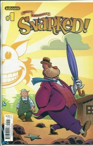 SNARKED! #1 ALL THREE COVERS SET NEAR MINT.