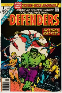 Defenders(vol. 1) Annual # 1 Showdown with Nebulon and the Headmen !