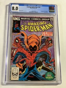 Amazing Spider-man 238 Cgc 8.0 Ow/w Pages