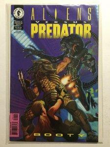 Aliens Versus Predator Booty 1 Near Mint Nm Dark Horse