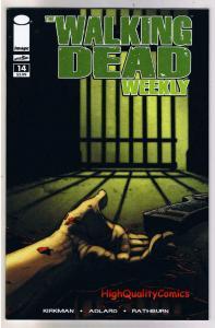 WALKING DEAD WEEKLY #14, NM, Zombies, Horror, Robert Kirkman, 2011, Brains,Flesh