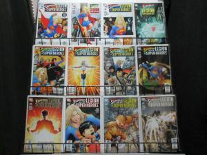 SUPERGIRL  (2005) 16-36  & LEGION OF SUPER-HEROES