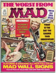 MAD SPECIAL 49 (WINTER 1984) VF WALL SIGNS!