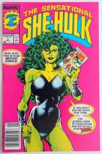 The Sensational She-Hulk #1 NEWSSTAND (VF/NM)(1989)
