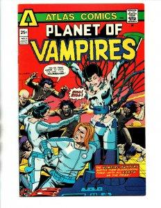 Planet of Vampires #3 - Atlas Comics - 1975 - VF