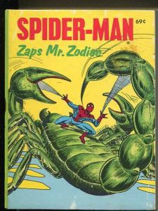 Spider-man Zaps Mr. Zodiac #5779 1976-Whitman-Big Little Book-FN