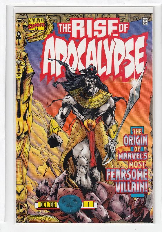 X-MEN RISE OF APOCALYPSE (Marvel 1997) Complete Set of 4: 1-4  NM-