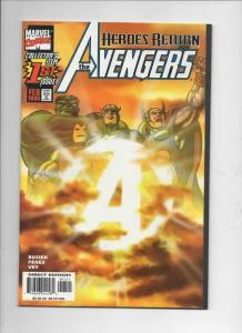AVENGERS #1, NM-, Captain America, Thor, Hulk, 1998, more Marvel in store