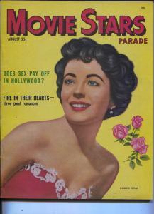 Movie Stars Parade-Liz Taylor-Doris Day-Gordan MacRae -Aug-1951