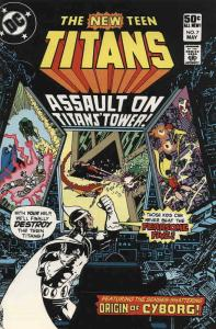 New Teen Titans, The (1st Series) #7 FN; DC | save on shipping - details inside