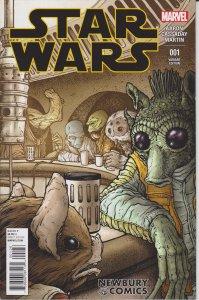 Star Wars #1 Variant Edition Newbury Comics