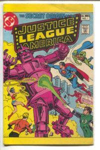 Secret Origin of Justice League of America #1 1980-DC -mini comic-1st issue-VF