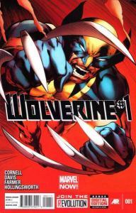 Wolverine (2013 series) #1, NM + (Stock photo)