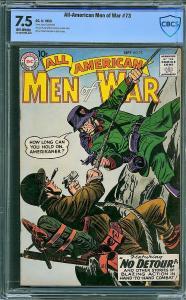 All-American Men of War #73 (DC, 1959) CBCS 7.5