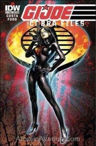 G.I. Joe: Cobra Files #1E VF; IDW   save on shipping - details inside