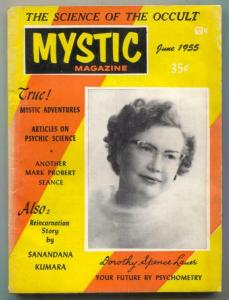 Mystic Magazine June 1955- Dorothy Spence Lauer- occult