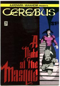 CEREBUS the AARDVARK #16, VF+, Dave Sim, 1977, more in store, QXT