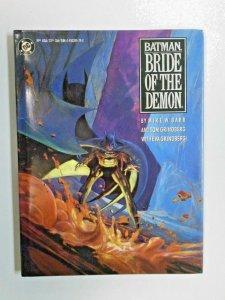 Batman Bride of the Demon #1 Hardcover 6.0 FN (1990)