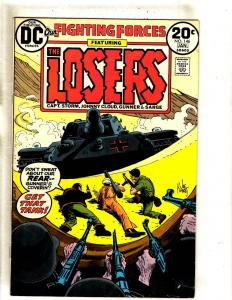 Lot Of 6 Our Fighting Forces DC Comic Books # 146 147 148 149 150 151 Losers FM1