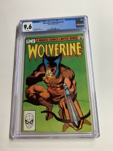 Wolverine Limted Series 4 Cgc 9.6 White Pages Marvel