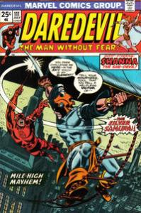 Marvel Comics Daredevil #111 Black Widow VF 1st app. Silver Samurai no stamp