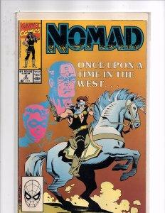 Marvel Comics (1990) Nomad #2 Fabian Nicieza Story James Fry III Art