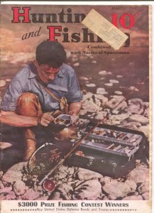 Hunting and Fishing 3/1942-WWII era issue-info-pix-ads-G