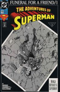 Adventures of Superman #498 VF/NM; DC | save on shipping - details inside