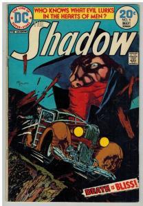 SHADOW (1973) 4 VG April-May 1974