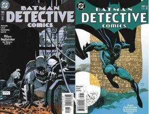 DETECTIVE 788-789 The Randori Stone COMICS BOOK