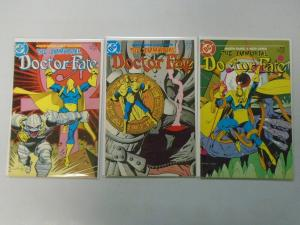 The Immortal Doctor Fate set #1-3 8.0 VF (1985)