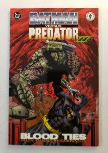 Batman vs Predator III Blood Ties TPB Graphic Novel - 1st Print - Near Mint NM!