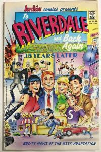 TO RIVERDALE & BACK AGAIN#1 FN 1990 JOHN BYRNE, GENE COLAN ARCHIE COMICS