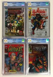 Marvel Cgc 9.9 Variant Lenticular Lot 16 Total 9.9's 125 234 25 13 150 672 595 1