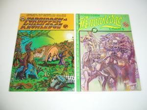 Forbidden Knowledge #1-2 FN/VF complete series underground comix last gasp 1975