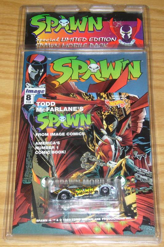 Special Limited Edition Spawn Mobile Pack VF/NM with spawn 8 by alan moore