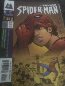 Marvel Imports Spider-Man the Manga #11 Mint Rare