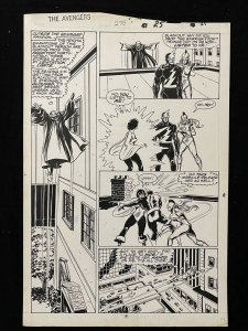 Avengers #276 Page 19 Original Comic Book Art - John Buscema 1987