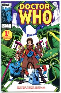 DOCTOR WHO #1 2 3 4 5 6 7 8 9-23, most NM, Daleks, Cybermen, Tardis, 1984, 1-23
