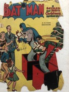 Batman 45,reader Christmas issue..Catwoman