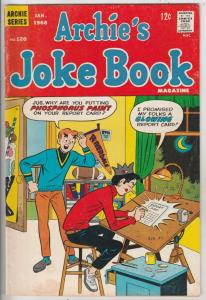 Archie's Joke Book #120 (Jan-68) FN/VF Mid-High-Grade Archie, Betty, Veronica...