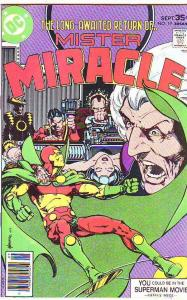 Mister Miracle #19 (Sep-77) NM Super-High-Grade Scott Free (Mister Miracle), ...