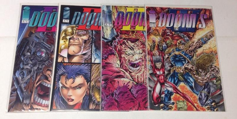 Dooms 4 1-4 Complete Near Mint Lot Set Run