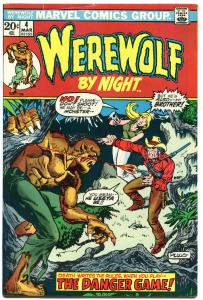 WEREWOLF by NIGHT #4, FN+, Wolf, Mike Ploog, Full Moon, 1972, more WW in store